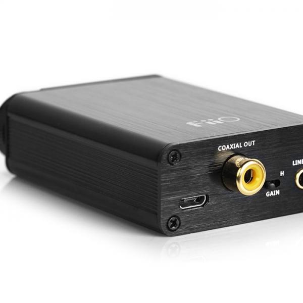 FiiO E10K Olympus išorinė garso korta (USB DAC)