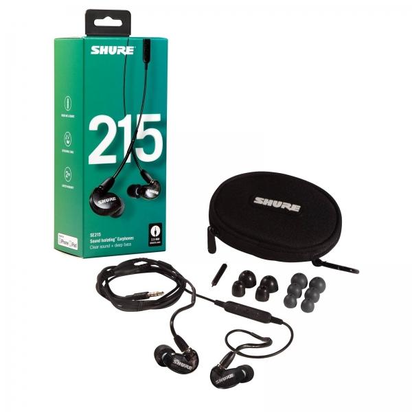 Shure SE215-K-UNI-EFS ausinės